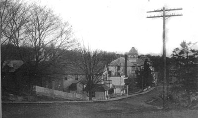 Rosseau in the early days looking North - RV0012