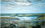 A Painting of Rosseau, by William Ditchburn - RV0023