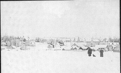 Rosseau Bay in the winter - RV0048