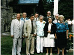 Crawford Group in Front of Rosseau Memorial Hall - RP0419
