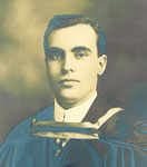 Eben (E.J.) Sirett Graduation - 1913 - RP0025