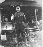 Unknown WW I soldier at Rosseau Retreat - RP0501
