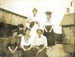 Clubbe, Beatrice;  Ashdown, Adele;  Wilkinson, Gertrude;  Ditchburn, Christabel; Harvie, Irene - RP0027
