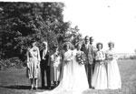 Wedding of John JacksonAmy Beley - 1947 - RP0177