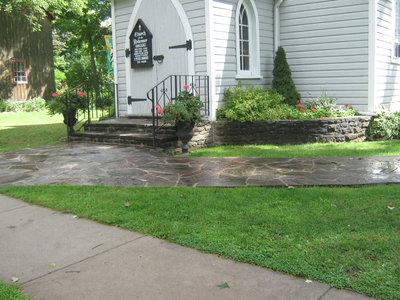 Stonemasonry - #15 Oak Street - Church of the Redeemer - RI0098