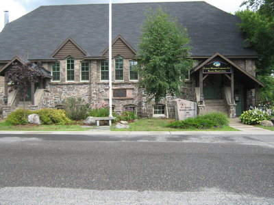 Stonemasonry - #2 Victoria Street West - Rosseau Memorial Community Hall - RI0103