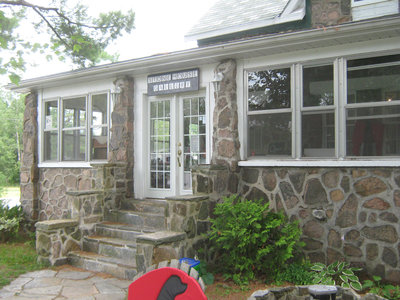 Stonemasonry - #5 HWY 632 - Stone House - formerly Oates home, Pearce home & Foote home - RI0119
