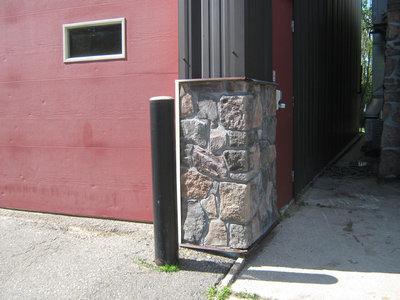 Stonemasonry - #4 Victoria Street West - Rosseau Fire Hall - RI0138