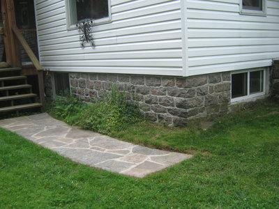 Stonemasonry - #21 HWY 632 - Fraser home - RI0140