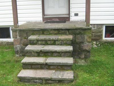 Stonemasonry - #21 HWY 632 - Fraser home - RI0142