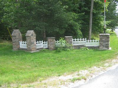 Stonemasonry - #1967 Bright Street - Rosseau Lake College - Front gates - RI0156