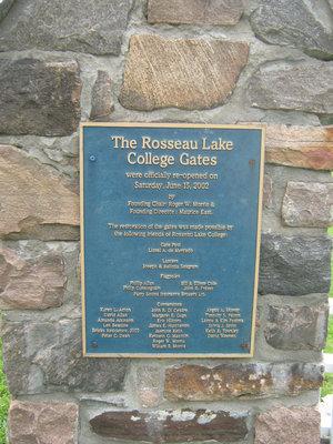 Stonemasonry - #1967 Bright Street - Rosseau Lake College - Front gates - RI0159