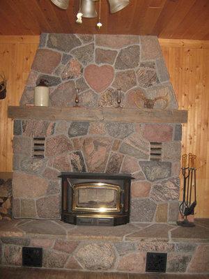 RI0175 - #403 Turtle Lake Road, Rosseau - Dan & Darlene Fraser's fireplace