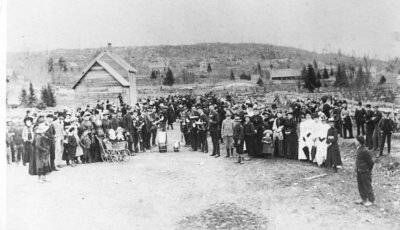 Fair Day or Victoria Day Celebration in 1889 or 1891 - RV0008
