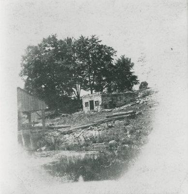 Hicock Iron Foundry Ruin, Delta, Ontario