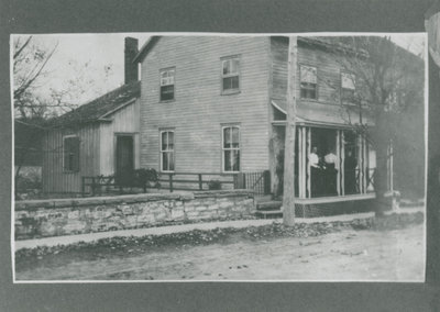 House on Main Street, Delta, Ontario