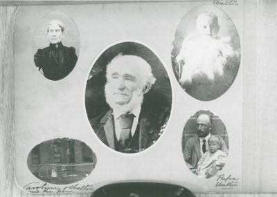 Walter Denaut and family