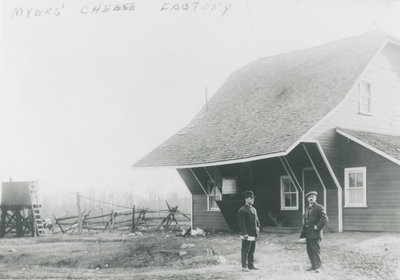 Myers Cheese factory c. 1910