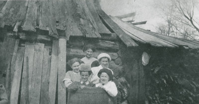 Sugaring Off at the Campbell Farm c. 1912