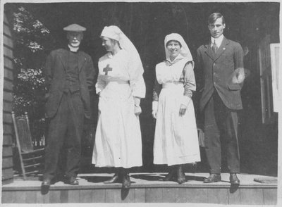 Nurses and staff at Fettercairn