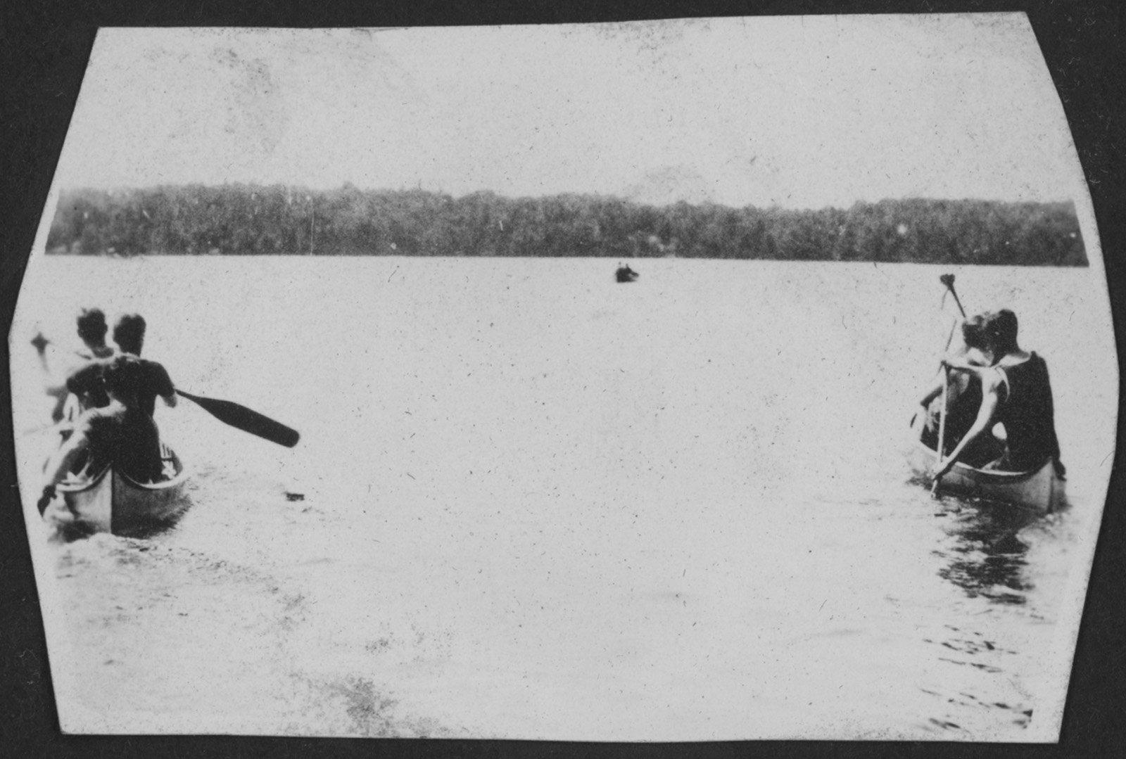 Canoeing near Fettercairn on Indian Lake