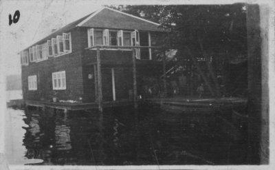 Boathouses at Fettercairn