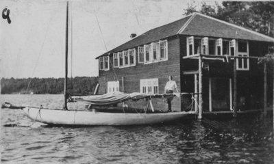 Boathouse at Fettercairn