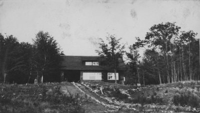 Main officer's bungalow at Fettercairn