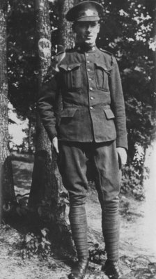 Soldier in uniform at Fettercairn