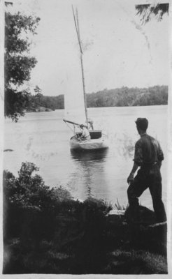 Sailing near Fettercairn