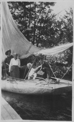Sailing at Fettercairn
