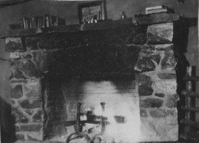 Fireplace at Fettercairn