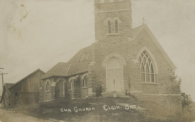 St. Paul's Anglican Church Elgin, Ontario 1911