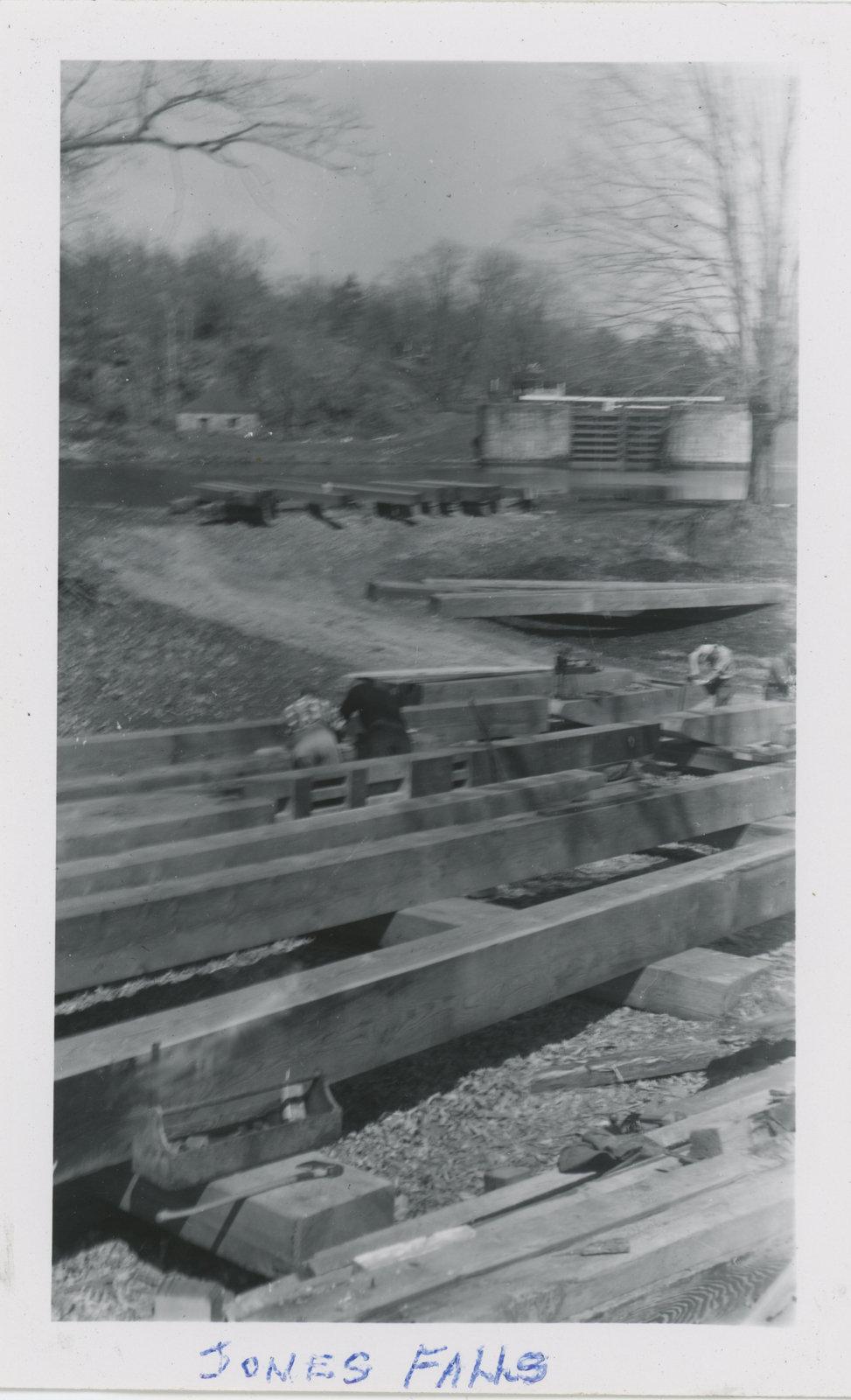Carpentry Gang at Jones Falls