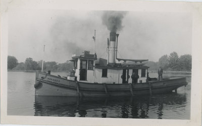 Agnes P. Rideau Canal Workboat