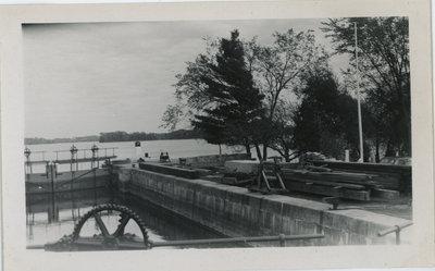 Narrows Lock Circa 1960