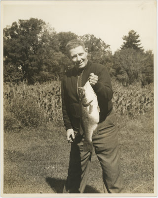 Don Jarrett With a Large Fish