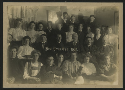 News Year's Eve Celebrations in Newboro 1907