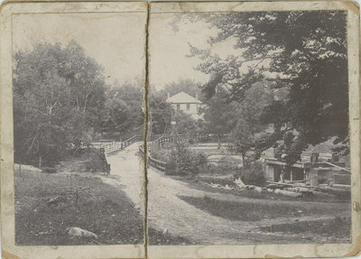 Lockmasters House and Locks at Chaffey's Lock c.1900