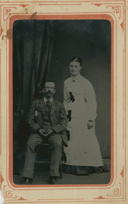 William Bass and Bessie Klegg c. 1880