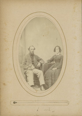 Jehiel B. Warren and Louisa Earl Warren