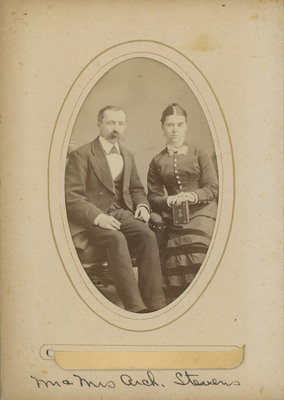 Archibald and Mary Maria Stevens