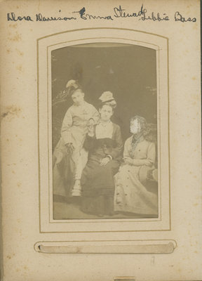 Dora Halladay Davison, Emma Stewart and Libby Warren Bass