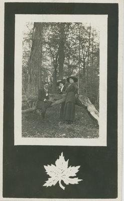 Cliff Pennock, Elsie Kerr, Eva Pennock