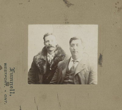 Captain Ned Fleming and Fred Gray