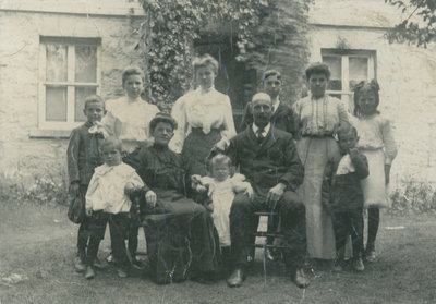 William Henry and Sarah Kennedy Fleming family