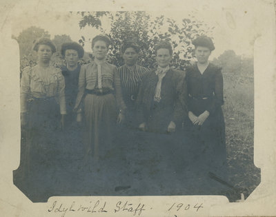 Hotel Staff at the Idylwild Hotel (later the Opinicon)