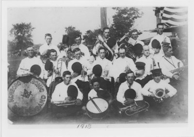 Newboro Brass Band 1918