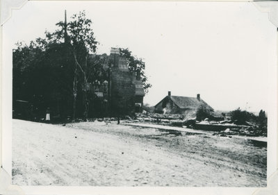 Drummond Street, Newboro, Ontario after the 1922 fire