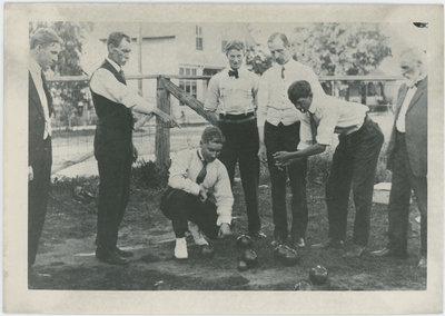 Lawn bowling, Newboro, Ontario
